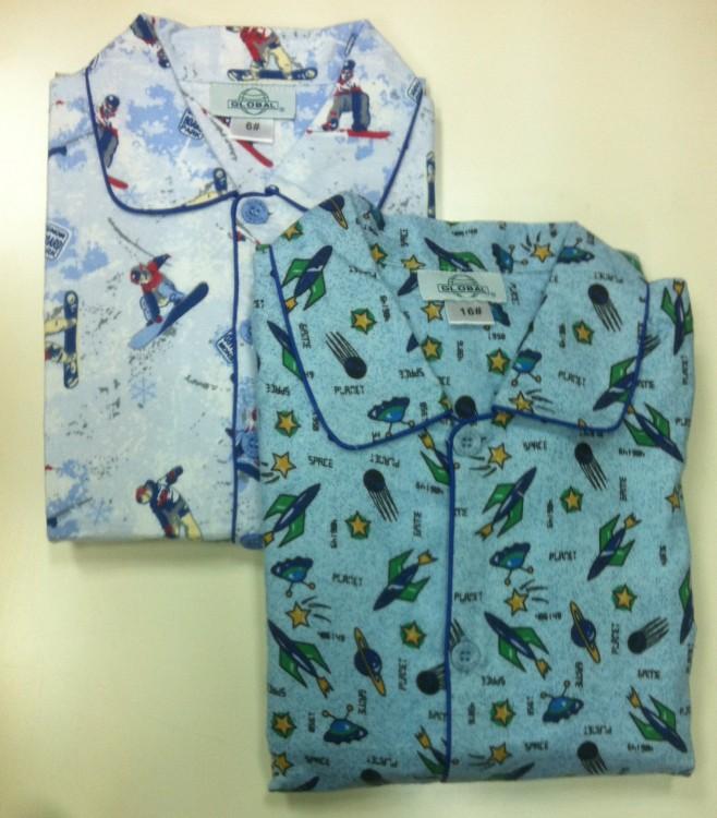 9f1664869080 Детская фланелевая пижама для мальчика (Global 206) - купить по цене ...