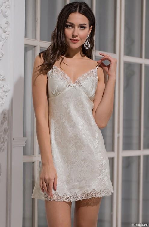 a1d51feb0844de7 Женская шелковая сорочка (100% шелк) (Mia-Amore 3170) - купить по ...