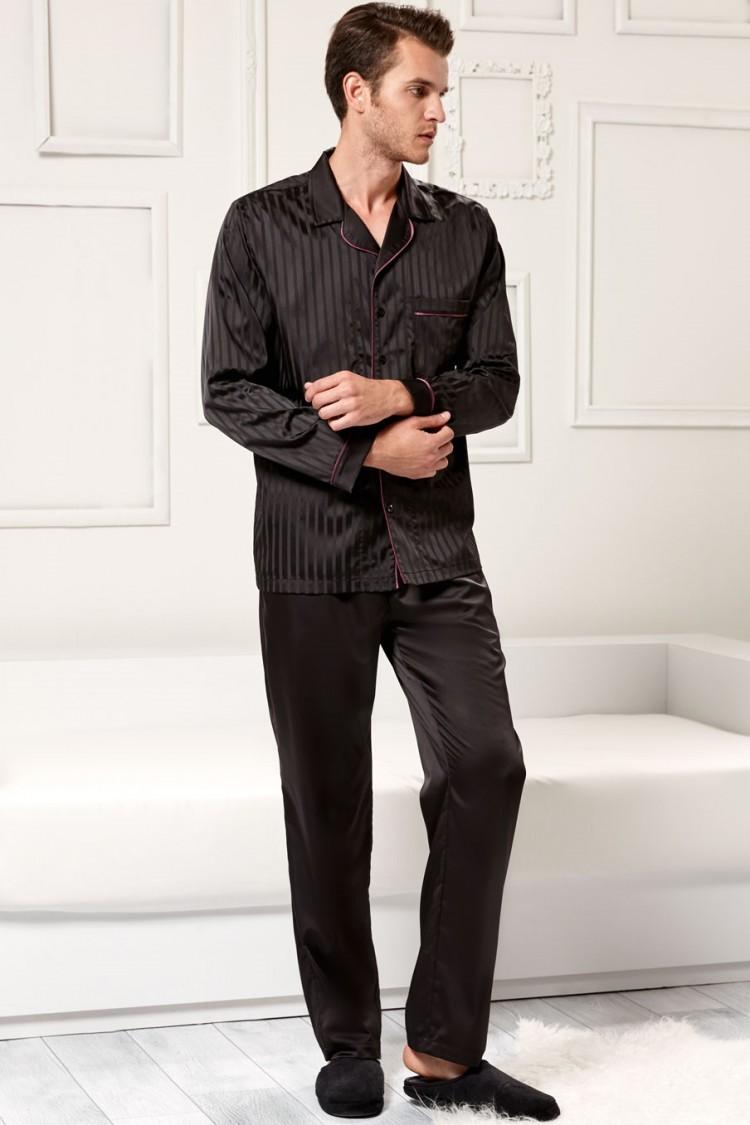 7f38f327ebdb5 Мужская шелковая пижама (R485017) - купить по цене 3 980 руб. в ...