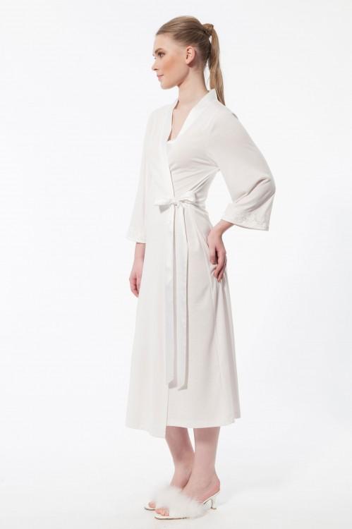77ddd0123d03 Женский летний халат на запах (Relax 720575) - купить по цене 3 680 ...
