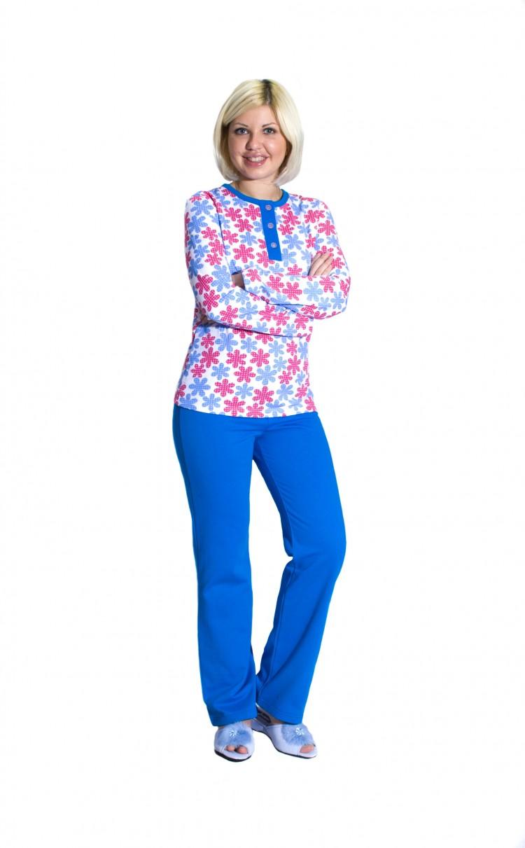 88e29852b1aa Женская утепленная пижама (112130) - купить по цене 980 руб. в интернет  магазине в Москве